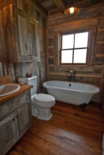 rustic interior design bathroom 46 bathroom interior designs made in rustic barns Rustic Interior Design Bathroom