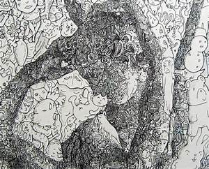New maddeningly complex doodle drawings from sagaki keita for New maddeningly complex doodle drawings from sagaki keita