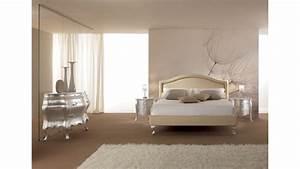 Lit 1 Place Adulte : lit 2 places entierement recouvert de cuir beige piermaria so nuit ~ Nature-et-papiers.com Idées de Décoration