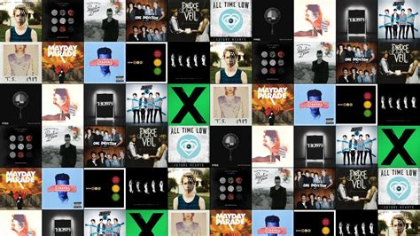 Pierce The Veil Desktop Wallpaper Fall Out Boy American Beauty Twenty One Pilots Wallpaper Tiled Desktop Wallpaper