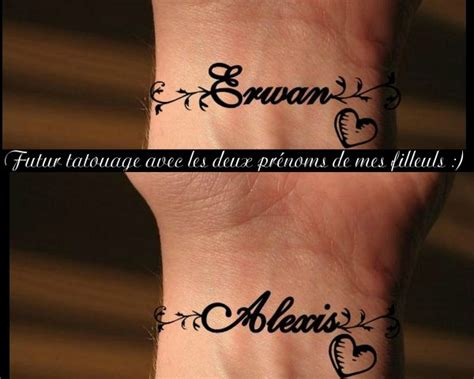 Tatouage Prénom Bracelet Poignet  Tattoo Boutique