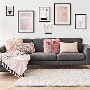 Graue Couch Wohnzimmer : ecksofa fluente eckteil rechts graues sofa couch und sofa ~ Michelbontemps.com Haus und Dekorationen