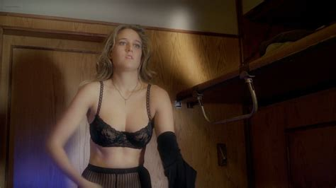 Leelee Sobieski Hot In See Through Lingerie Night Train