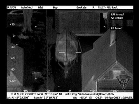 Massachusetts State Police Release Aerial Helicopter FLIR ...