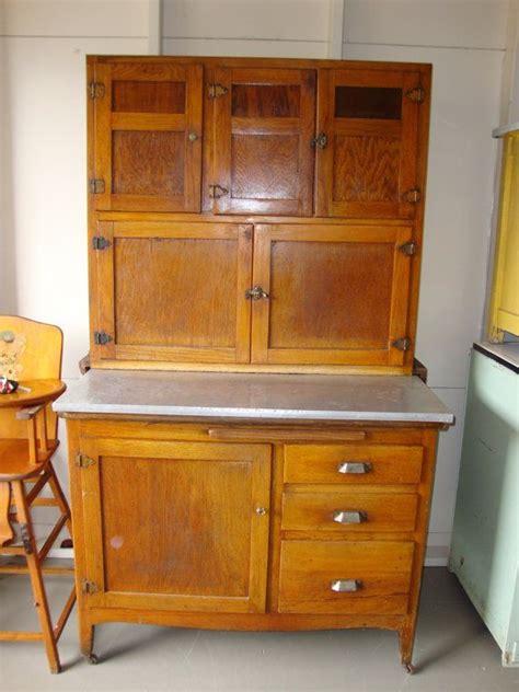 kitchen hoosier cabinet 1930 s wooden hoosier type kitchen cabinet zinc top by 5394
