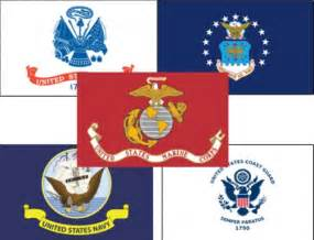 All Military Branches Flags