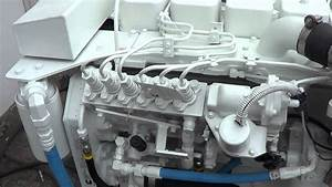 Cummins Marine 6bta 370 Diamond Engine Test For Waleed