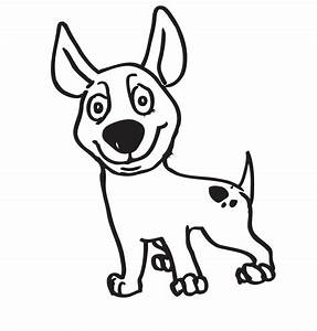 Process of a dog's character illustration | ReignDesign | Blog