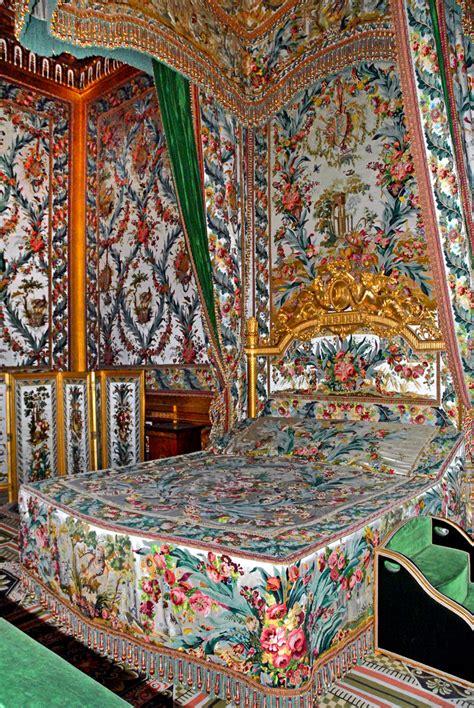 chambre antoinette file lit de la chambre de l 39 impératrice château de