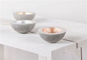 Deko Aus Beton Selber Machen : deko schale aus beton selber machen diy pinterest selber machen dekoschale und deko ~ Markanthonyermac.com Haus und Dekorationen