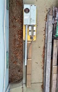 100 Amp Underground Temporary Service Electric Pole