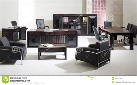 bureau biblioth ue int r meubles de bureau photos stock image 10429733