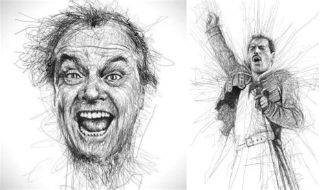 Artist Creates Immpecible Celebrity Sketches With Pencil