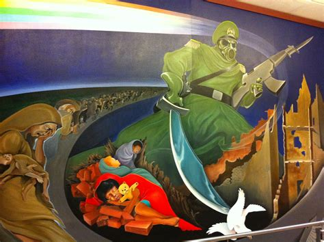 Denver Airport Murals Painted by The Murals At Denver International Airport Boing