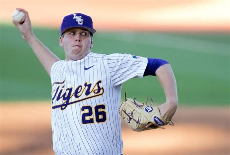 How AJ Labas earned LSU's Sunday starting pitching role