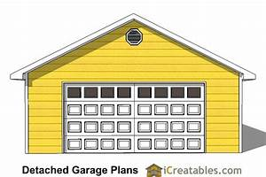 24x40 garage plans 24x40 detached garage plans With 24x24 garage material list
