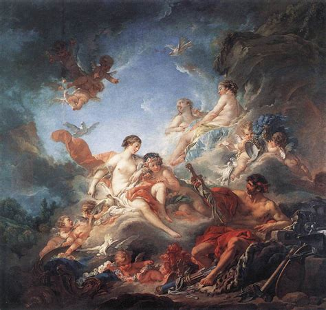 Fileboucher Vulcan Presenting Venus With Arms For Aeneas