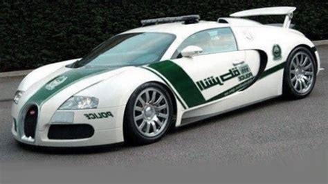 The Dubai Police Has Received The Bugatti Veyron As A