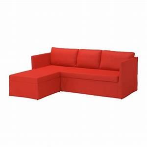 Ikea Canapé D Angle : br thult canap d 39 angle 3 places vissle rouge orange ikea ~ Teatrodelosmanantiales.com Idées de Décoration