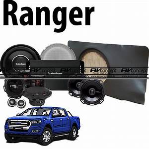 Ford Ranger Px And Px Mk2 Dual Cab Rockford Fosgate Power