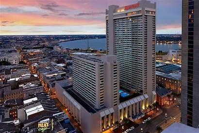 Orleans Marriott Hotel Center Stay Exterior Hotels
