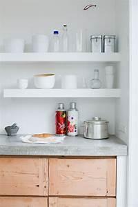 Holz Arbeitsplatte Küche : arbeitsplatte aus beton 30 ideen f r oberfl che in der k che ~ A.2002-acura-tl-radio.info Haus und Dekorationen