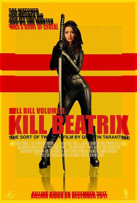 quentin tarantino kill bill  posters retro poster