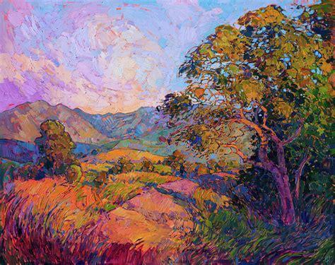 vista oak painting  erin hanson
