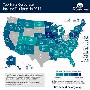 Top State Corporate Income Tax Rates in 2014 - Tax Foundation