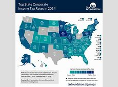 Top State Corporate Income Tax Rates in 2014 Tax Foundation