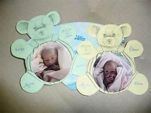 Quoi Offrir Pour Une Naissance : naissance petits jumeaux mcl12scrap ~ Melissatoandfro.com Idées de Décoration
