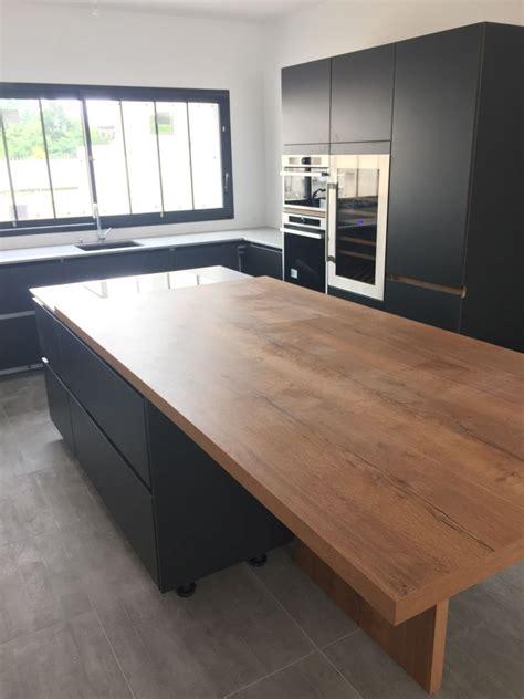 cuisine sol cuisine avec sol noir