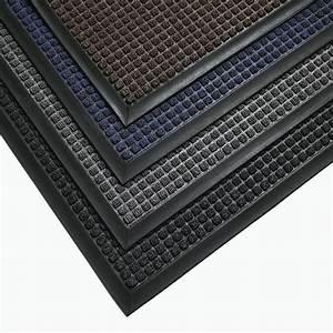 Tapis Entrée Intérieur : tapis d 39 entr e gu pour l 39 int rieur 120 x 180 cm noir ~ Teatrodelosmanantiales.com Idées de Décoration