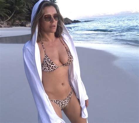 Elizabeth Hurley Beach