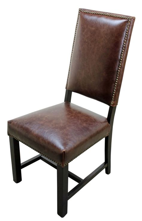 genuine leather dining chairs leather dining chairs