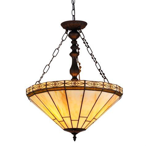 stained glass inverted pendant light chloe lighting inc tiffany l tiffany ls tiffany
