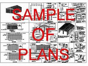 30' x 40' Pole Barn floor plans Garage Workshop SDSplans