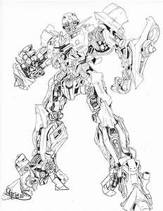 Transformers Bumblebee Coloring Coloring Pages