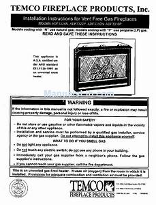 Temco Adf3324n Installation Instructions Manual Pdf