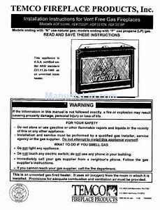Temco Adf3324n Installation Instructions Manual Pdf