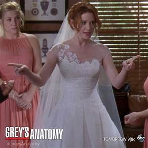 grey39s anatomy april39s wedding dress really pretty With april kepner wedding dress
