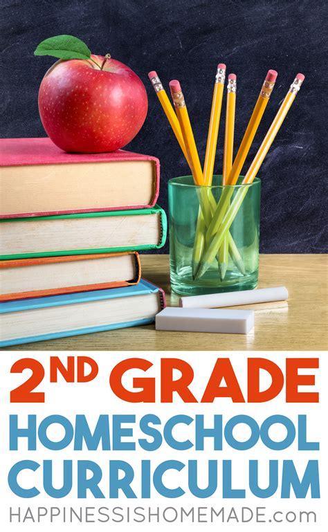 Homeschool Curriculum  2nd Grade  Happiness Is Homemade