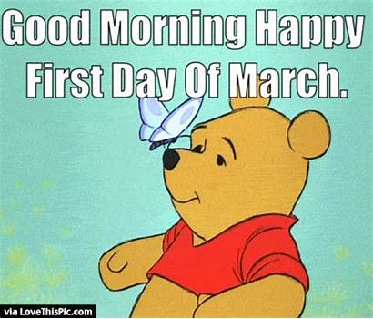 March Happy Morning Pooh Winnie Gifs Quotes