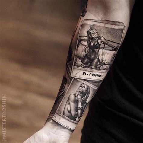 comic arm lady forman tattoo  tattoos uk