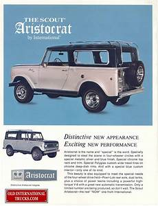 1969 Scout Aristocrat 800a  U2022 Old International Truck Parts