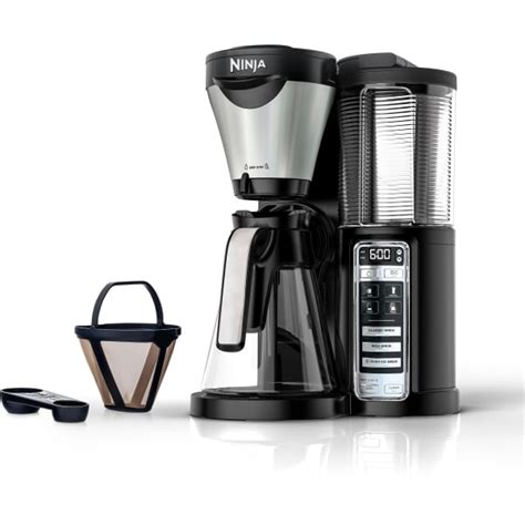 The point being, the ninja hot and cold brewed system is programmed to make sure you get a real good cup of coffee or tea. Ninja Hot and Iced Coffee Maker with Auto-iQ One-Touch Intelligence