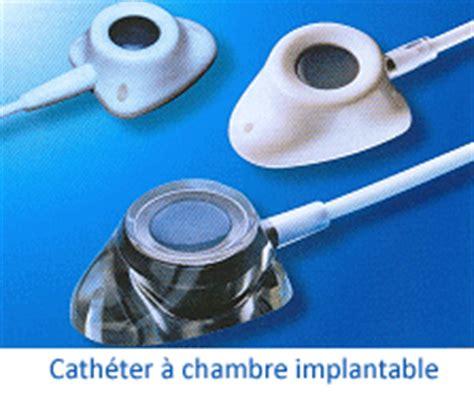 chambre d implantation pour chimio cathéter à chambre implantable cadre général à ève