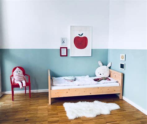 farbgestaltung kinderzimmer maedchen schoene einfach