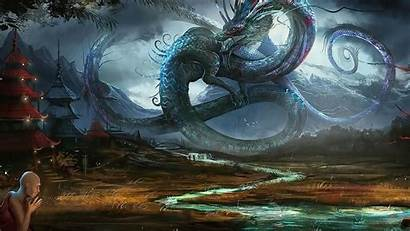 Dragon Shadow Chinese 3d