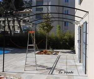 pergolas en fer forge pour terrasse kirafes With pergola en fer forge pour terrasse